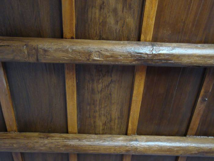 Soffitto In Legno Finto : Controsoffitti effetto legno